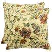 Waverly Felicite Decorative Cotton Throw Pillow (Set of 2)