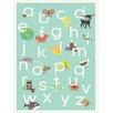 Children Inspire Design Nature Themed Alphabet Framed Textual Art