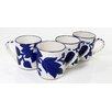 Le Souk Ceramique Jinane Coffee Mug (Set of 4)