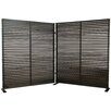"Moe's Home Collection 72"" x 119"" Damani 2 Panel Room Divider"
