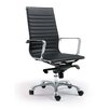 Moe's Home Collection Omega High-Back Executive Chair (Set of 2)