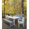 Uwharrie Chair Carolina Preserves Dining Table