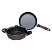 Swiss Diamond 3 Piece Cookware Set