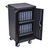 Luxor 18-Compartment Laptop Charging Cart