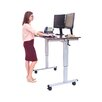 Luxor Standing Desk with Casters