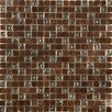 Emser Tile Treasure Glass Mosaic Tile in Bronze