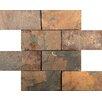 Emser Tile Slate Mosaic Tile in Multi-colored