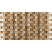Emser Tile Lucente Random Sized Glass Mosaic Tile in Puntini
