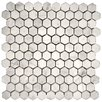 Emser Tile Marble Mosaic Tile in Bianco Gioia