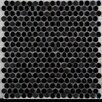 Emser Tile Confetti Porcelain Mosaic Tile in Black