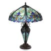 """Chloe Lighting Tiffany Roosevelt Victorian 26"""" H Table Lamp with Bowl Shade"""