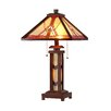 """Chloe Lighting 25.6"""" H Table Lamp with Empire Shade"""