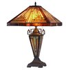 """Chloe Lighting Innes 24.2"""" H Table Lamp with Empire Shade"""