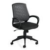 Offices To Go Mid Back Mesh Conference Chair