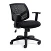 Offices To Go Mid Back Mesh Tilter Conference Chair