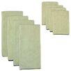 Design Imports 8 Piece Trim Microfiber Towel and Cloth Set