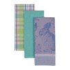 Design Imports 3 Piece Easter Bunny Dishtowel Set