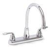 Premier Faucet Waterfront 2 Handle Centerset Kitchen Faucet with Optional Side Spray