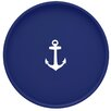 "Kraftware Anchor 16"" Round Serving Tray"
