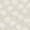 "WallPops! 18' x 20.5"" Dandelion Peel and Stick Wallpaper"