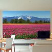 Brewster Home Fashions Ideal Décor Tulips Wall Mural