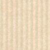 "Brewster Home Fashions Kitchen & Bath Resource III 33' x 20.5"" Sheldon Stripes Embossed Wallpaper"