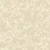 "Brewster Home Fashions Artistic Illusion Fauna Silhouette Leaves 33' x 20.5"" Floral Embossed Wallpaper"