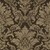 """Brewster Home Fashions Artistic Illusion Cynthia 33' x 20.5"""" Damask Embossed Wallpaper"""