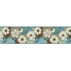 "Brewster Home Fashions Meadowlark Septimus Gardenia 15' x 6"" Border Wallpaper"