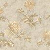 "Brewster Home Fashions For Your Bath II 33' x 20.5"" Julianne Magnolia Trail Wallpaper"