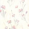 """Brewster Home Fashions For Your Bath II 33' x 20.5"""" Veldt Chic Floral Wallpaper"""