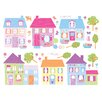 Brewster Home Fashions Euro Happy Street Wall Decal