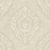 """Brewster Home Fashions Pompei Theodor 33' x 20.5"""" Damask Embossed Wallpaper"""
