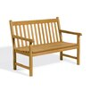 Oxford Garden Classic Wood Garden Bench