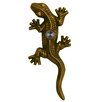 Waterwood Hardware Brass Gecko Lizard Doorbell