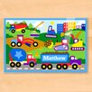 Olive Kids Under Construction Personalized Placemat