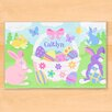 Olive Kids Easter Basket Girls Personalized Placemat