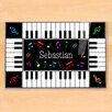 Olive Kids Piano Personalized Placemat