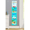 Olive Kids Pirates Personalized Peel and Stick Growth Chart