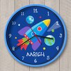 "Olive Kids 12"" Out of This World Personalized Wall Clock"