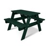 POLYWOOD® Kids Rectangular Picnic Table