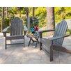 POLYWOOD® Long Island 3 Piece Adirondack Seating Group