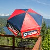 Parasol 6' Cinzano Market Beach Pole Umbrella