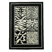 DonnieAnn Company African Adventure Square Mix Area Rug