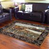 DonnieAnn Company Wilderness Black Area Rug