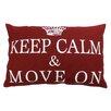 Park B Smith Ltd Keep Calm & Move on Pillow