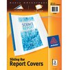Avery Sliding Bar Report Cover 3 Count