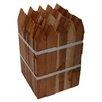 BondManufacturingCo Redwood Tree Stakes (Set of 50)