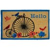 Home Dynamix Fiesta Hello Bike Doormat