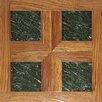 """Home Dynamix Dynamix Vinyl Tile 16"""" x 16"""" Luxury Vinyl Tiles in Paramount Woodtone/Green Marble"""